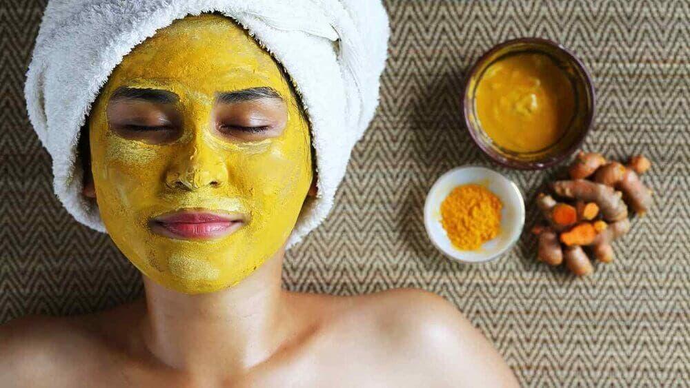 Masque curcuma bienfaits pour la peau